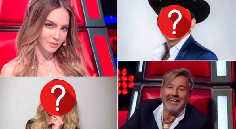 FOTOS: ¿Quiénes son los nuevos coaches de La Voz?