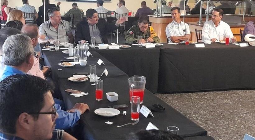 Participa Fiscal en Mesa de Seguridad y Justicia en Parral