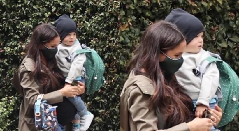 Meghan Markle y Harry compartieron foto de su hija en WhatsApp