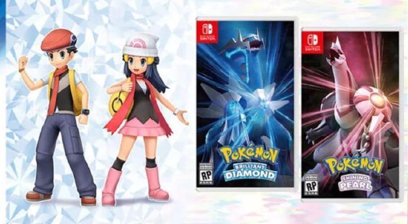 Lanzan nuevo tráiler de Pokémon Brilliant Diamond y Shining Pearl